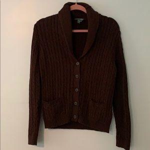 Brown Ralph Lauren sweater